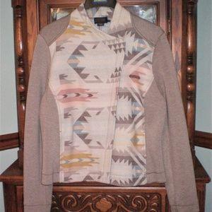 PENDLETON XL White sands Moto Jacket Native aztec